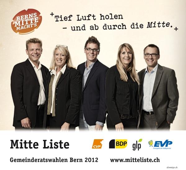 Die Kandidatinnen und Kandidaten waren beim Fotografen | Mitteliste.ch