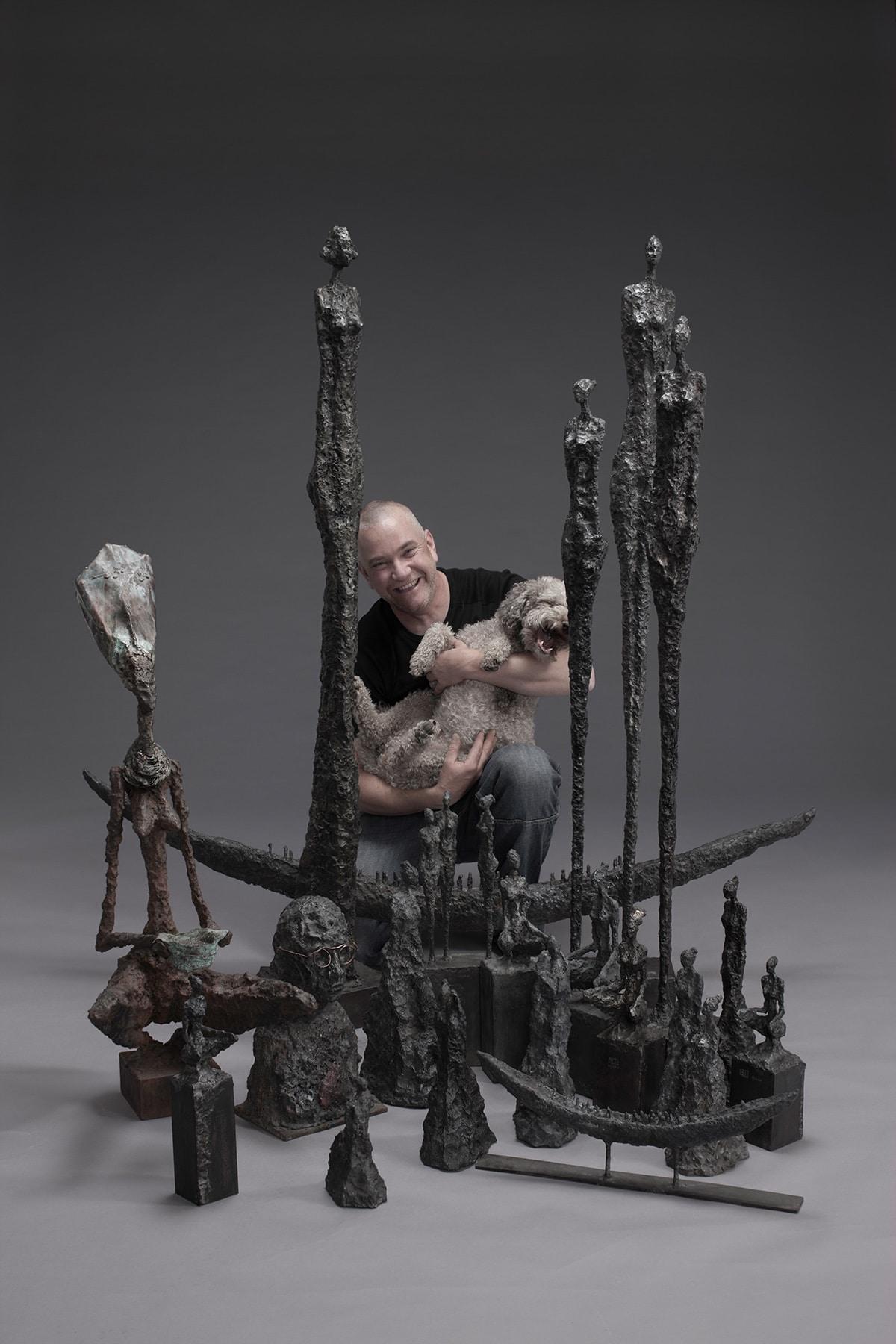 Skulpturen-Schweiz-David-Werthmueller-Eisenplastiker-